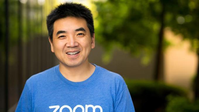 创立远程会议服务平台Zoom的中国移民袁征(Eric Yuan)(Zoom 公司官网)