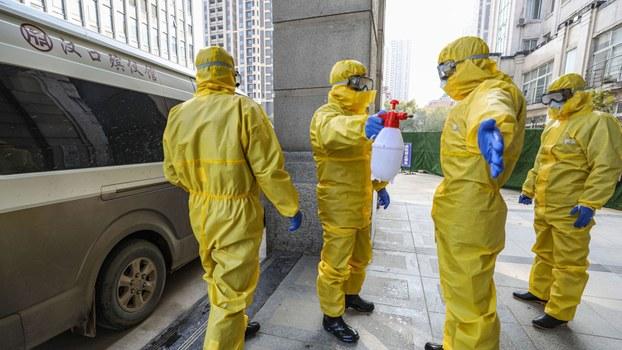 中国武汉开始的新冠状病毒导致很多人死亡,中国政府强制要求所有在冠状病毒中亡故者的尸体要火化处理,此决定在穆斯林群体中引起较大反响。图为武汉汉口殡仪馆。(法新社)