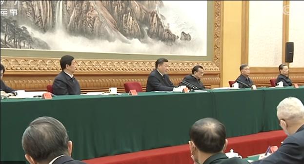 中国国家主席习近平对复工提出具体要求。(视频截图)