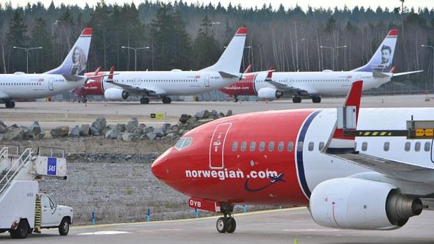 武汉肺炎疫情对全球航空业造成重大打击,中国的中银航空租赁 5月20日收购了挪威航空快线(Norwegian Air Shuttle)约13%的股权,中国政府将成为其最大的股东之一。(路透社资料图片)