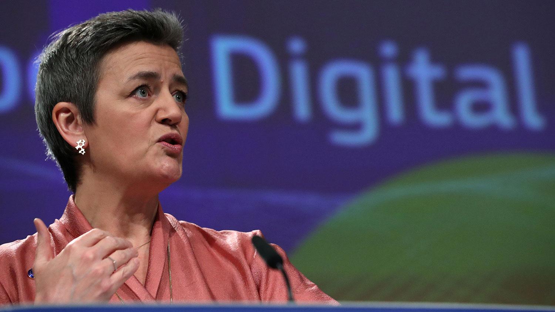 欧洲适应数位年代(Europe Fit for Digital Age)执行副主席范斯塔吉(Margrethe Vestager)警告,各地区在疫情过后的经济复苏速度不一,而若欧盟复苏的脚步落后,便需要对中国的收购保持警惕。(路透社)