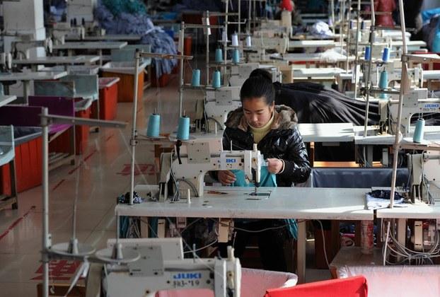 中国出口商品中大约90%是贴牌产品,被称为世界工厂的中国制造业品牌国际化进程缓慢,迄今还没有一家中国制造业品牌跻身世界品牌500强中的前100位排行榜。(AFP PHOTO)