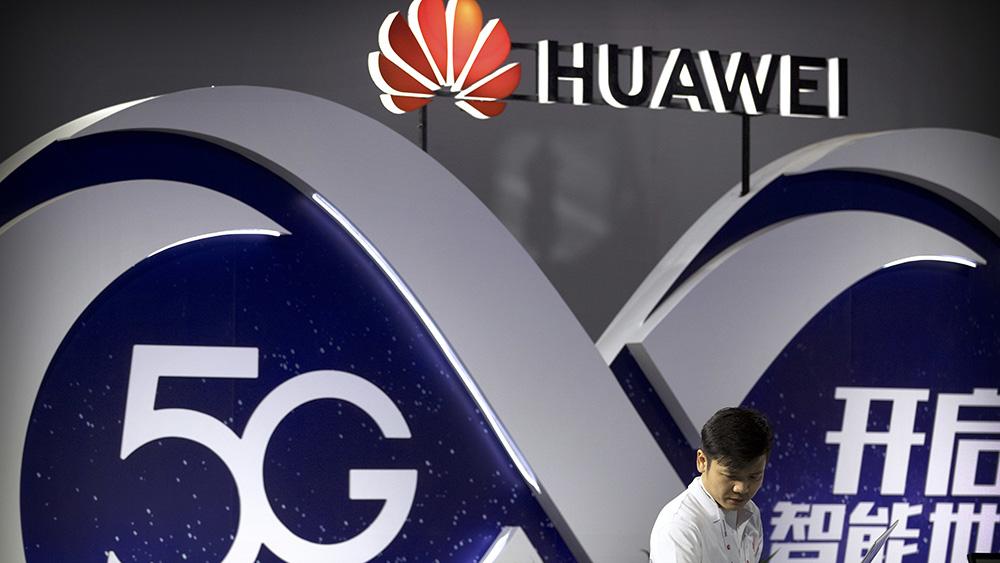 中国企业华为正在致力于开发5G技术(美联社)