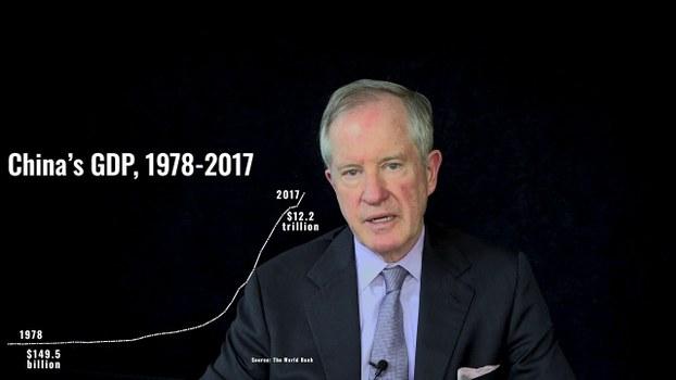 彼得森国际经济研究所高级研究员尼古拉斯·拉迪(Nicholas Lardy)。(视频截图)
