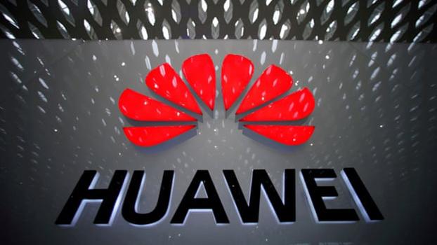 中国华为公司标志(路透社)