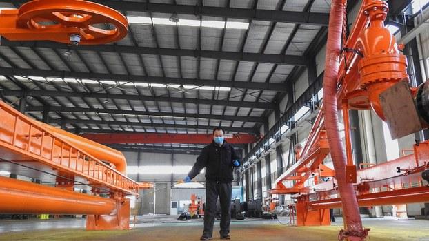 受到疫情等不利因素冲击,广东多家大型制造商不是停产休假,就是索性倒闭结业。(法新社资料图片)