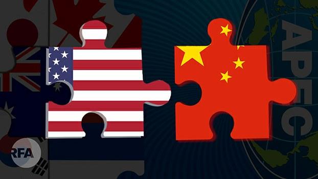 习近平APEC高喊中国经济更开放 谁信?(自由亚洲电台制图)