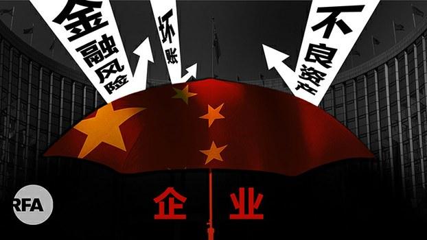 美国大选风波未平 中国金融波澜已起(自由亚洲电台制图)