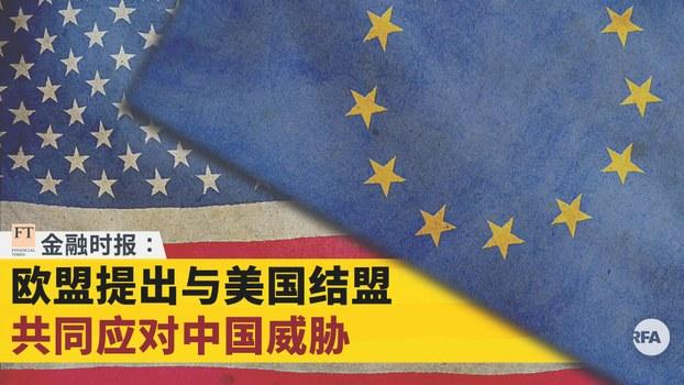 欧盟提出与美国结盟   共同应对中国威胁