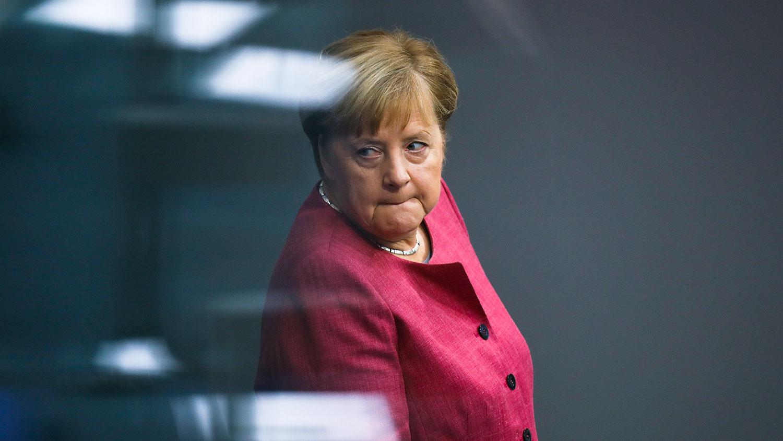 默克尔誓言在未来和北京对话时会提出人权问题,以及德国对香港情势的忧虑。(美联社)
