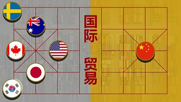 特朗普拟出重拳 组同盟抵制中国经贸霸凌(自由亚洲电台制图)