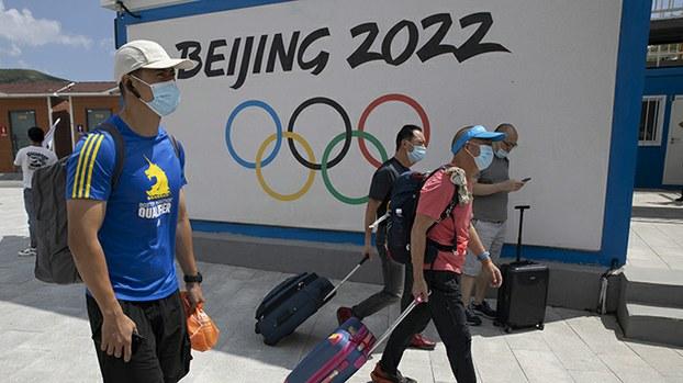 计划于2022年在中国北京举行的冬季奥运会(美联社)