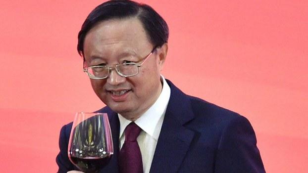 中国负责外交事务的国务委员杨洁篪(AFP)