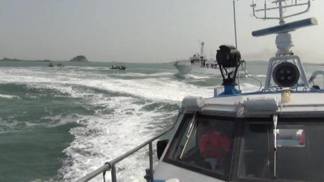 """美军电侦机EP-3E二度现踪台湾南部海域。(Twitter""""飞机守望Aircraft Spots"""")"""