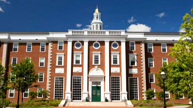 哈佛大学一景(Public Domain)
