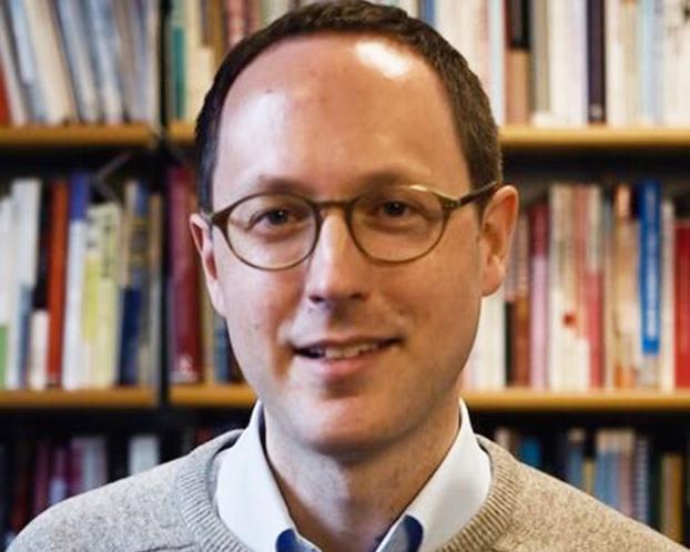 英国诺丁汉大学欧中关系问题专家傅洛达博士(Andreas Fulda)(推特截图/Andreas Fulda@AMFChina