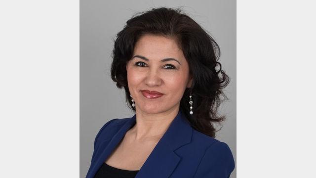 维吾尔人权活动人士卢珊·阿巴斯。(维吾尔之声)