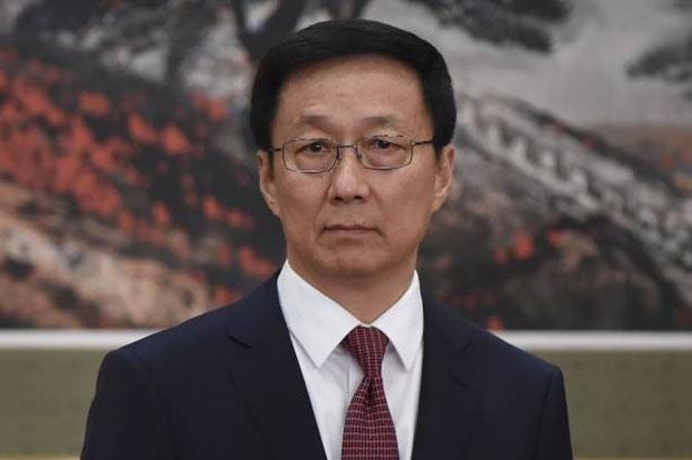 中共中央政治局常委韩正(AFP)