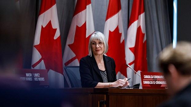加拿大卫生部长帕蒂·哈杜(Patty Hajdu)  (帕蒂·哈杜推特)