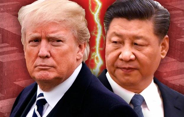 美国和中国的贸易战,正在演变成为两个大国全面的战略对抗。(AFP)