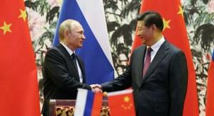 习近平与普京(AFP)
