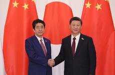 日本首相安倍晋三本月8号与中国国家主席习近平在德国汉堡举行了会谈。约40分钟的会谈中,安倍提及中国当局拘留多名日本人,要求妥善处理。(南洲提供)