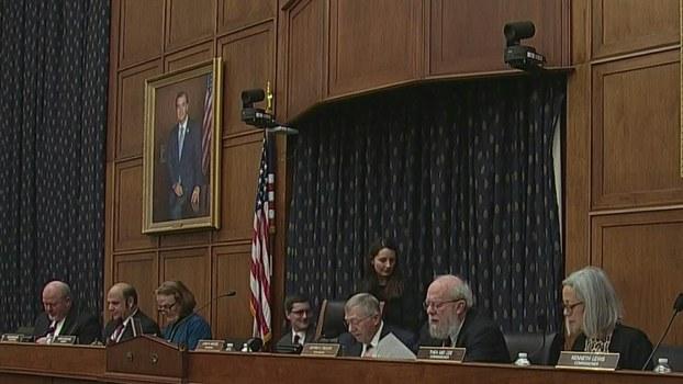 美中经济及安全审查委员会2020年2月20日就中国军力问题举办听证会(视频截图)