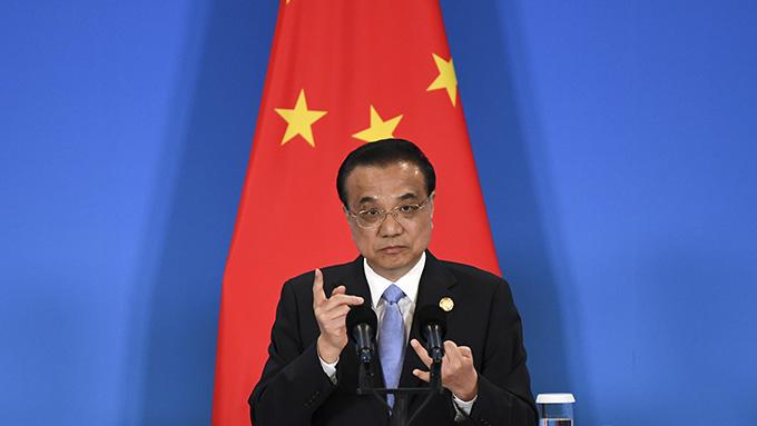 中国总理李克强(美联社)