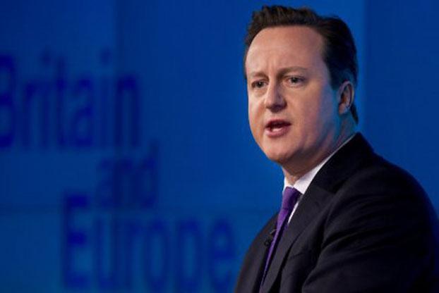 图片:卡梅伦(AFP资料)