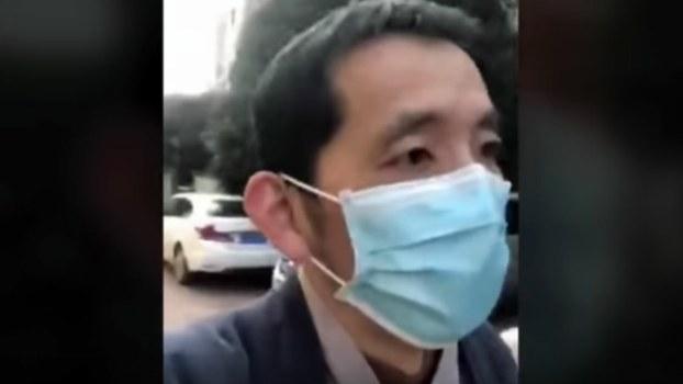 中国自媒体人、武汉居民方斌(视频截图)