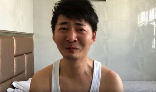 公民记者陈秋实(推特图片)