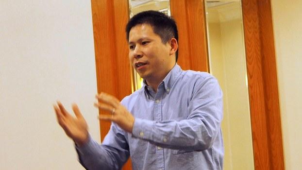中国新公民运动发起人许志永(路透社)
