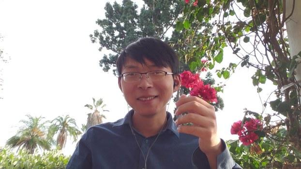 挺台湾的大陆小伙刘大圣(视频截图)