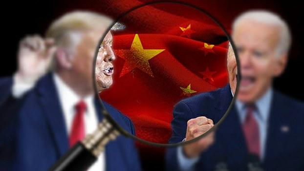 中国如何严格控管美国大选信息?(自由亚洲电台制图)