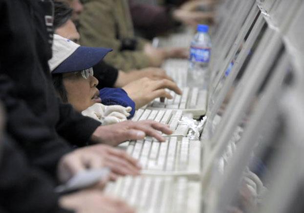 中国持续收紧网络言论空间。(AFP)