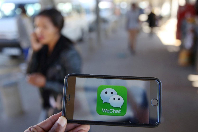 微信成已成为中国民众最常用的通信工具。(路透社)