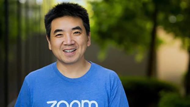 远程会议服务平台Zoom创办人、中国移民袁征(Eric Yuan)(Zoom 公司官网)