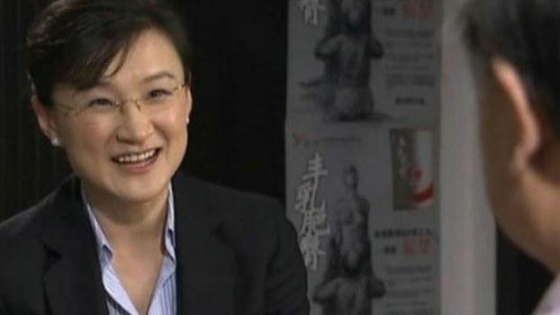 中国央视记者董倩(Public Domain)