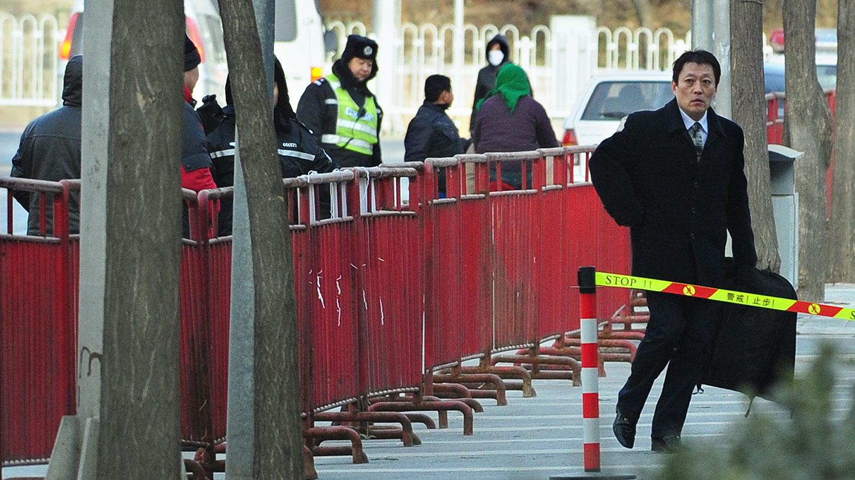 耿潇男委托的辩护律师尚宝军自10月29日之后,多次申请会见当事人耿潇男,但不成功。(法新社资料图片)