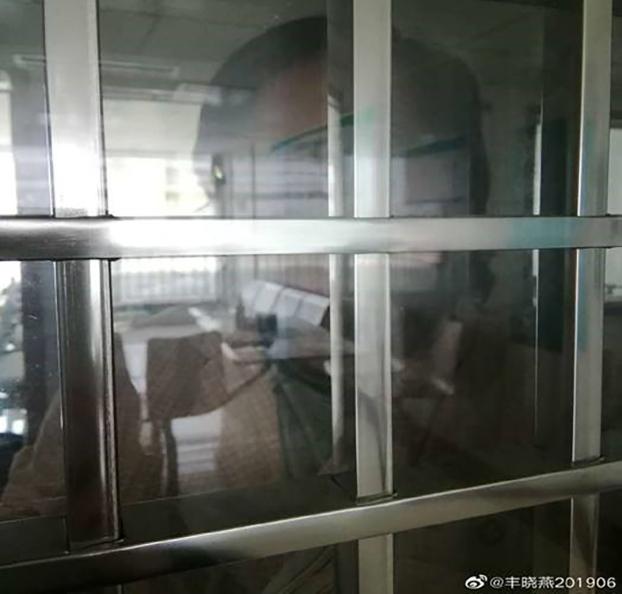 丰晓燕控诉医生素质和强迫用药的副作用(丰晓燕女儿提供)