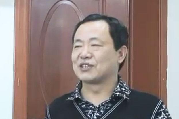 安徽维权人士张林。(视频截图 / 独立台 孑木 )