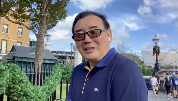 澳籍华裔作家杨恒均(路透社)