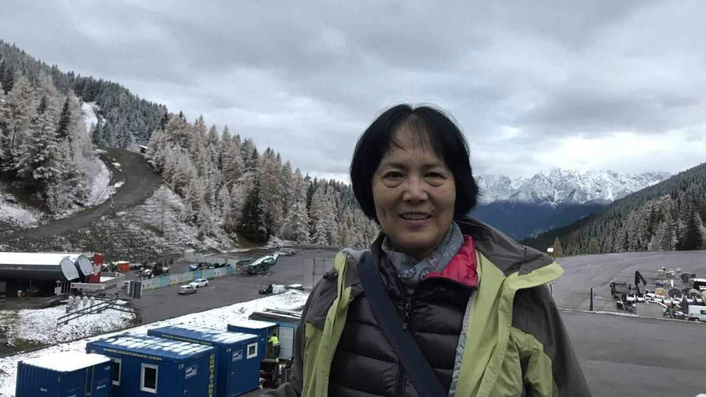 """天安门母亲发言人尤维洁敦促美国总统特朗普,不要因为""""向钱看""""无视中国的人权状况。(尤维洁独家提供)"""