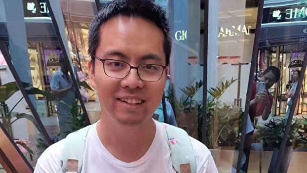 中国前媒体人张贾龙。(受访人提供)