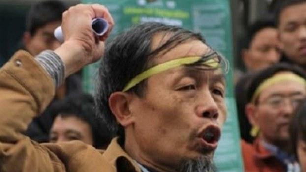 资料图片:湖南维权人士朱承志。(维权网)
