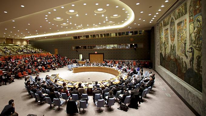 资料图片:联合国人权理事会正在美国纽约举行会议(美联社)