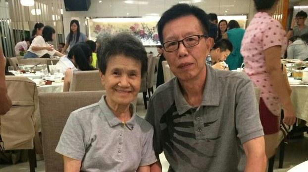 广州民运人士范一平(右)(推特截图)
