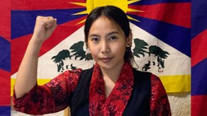 齐美·拉姆(Chemi Lhamo)因为曾支持西藏自治,因此遭到无数恐吓威胁。  (齐美·拉姆脸书)