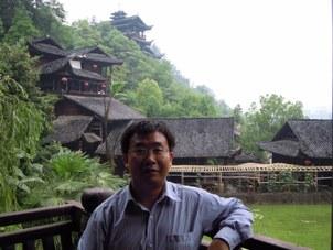 人权律师江天勇。(志愿者提供/记者乔龙)