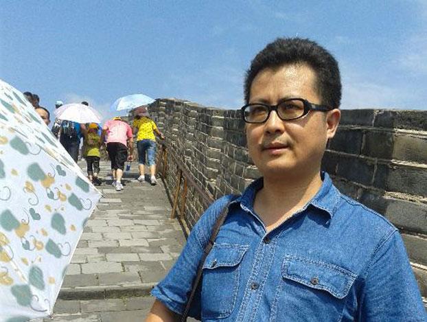 本名为杨茂东的广州著名维权人士郭飞雄。 (新公民运动)
